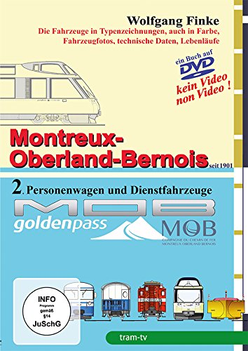 Die Fahrzeuge der Montreux-Oberland-Bernois-Bahn Teil 2