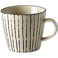 Fill Salbei Set 4/St/ück Teller aus Steinzeug Keramik Taupe 17.5/x 17.5/x 6/cm