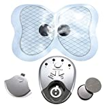 isremi£¨TM) butterfly electric massager pads therapy vibrator shock body ABS muscle trainer stimulator massage waist weight loss health Care