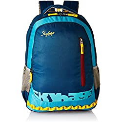 Skybags Polyester Blue Laptop Backpack (LPBPVI1EBLU)