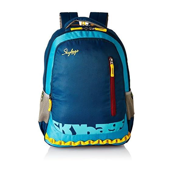 Skybags Blue Laptop Backpack (LPBPVI1EBLU)