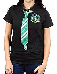 Femmes Harry Potter Serpentard Cape Polo avec Tie