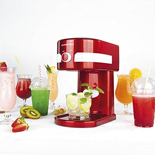 Eismaschine Slusheis und Crushed-Eis Maschine in einem 30W ( Wählbare Eiskonsitenz, für Drinks, Eisspezialitäten, Smoothies und Cocktails) - Maschine Für Eis