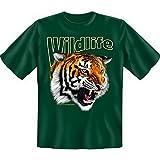 spaßiges Sprüche Tshirt Tiger Gr XXL Fb grün