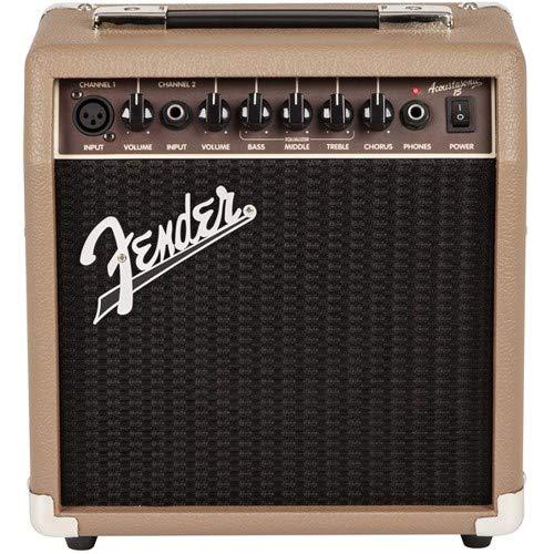 Fender ACOUSTASONIC Gitarre Verstärker 15W–Instrumente/Verstärker