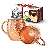 Best Moscow Mule Mugs - Solid Copper Moscow Mule Mug - Set of Review