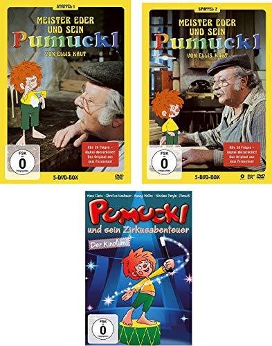 Pumuckl Staffel 1 + 2 + Zirkusabenteuer im Set - Deutsche Originalware [11 DVDs]