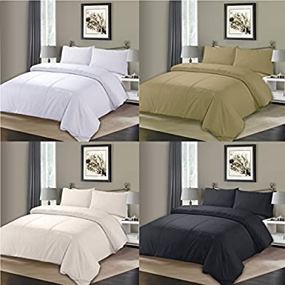 Sapphire collection Pintuck Duvet Cover With Pillow Case Bedding Set All Size - inexpensive UK light store.