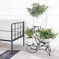 Yunfeng Flower Stand,Iron Multi-storey green Luo spider plant flower shelf balcony living room flowerpot rack 60 * 60cm