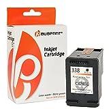 Bubprint Druckerpatrone kompatibel für HP 338 HP338 für Deskjet 5740 6500 9800 Officejet 100 150 Mobile K7100 H470 Photosmart C3100 8050 8450 Schwarz