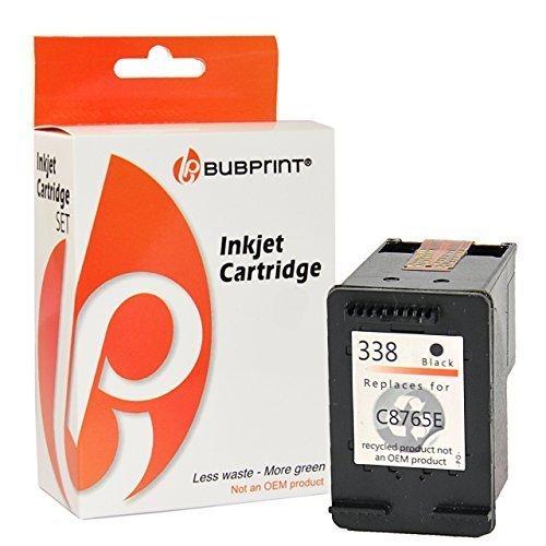 Bubprint Druckerpatrone kompatibel für HP 338 HP338 für Deskjet 5740 6500 9800 Officejet 100 150...