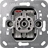 Gira System 55 reinweiß glänzend - 10er Set Wippschalter Wechsel