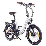"NCM Paris ( ) E-Bike, E-Faltrad, 250W, 36V 15Ah/19Ah • 540Wh/684Wh Akku, 20"" Zoll"