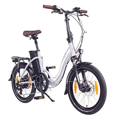 "NCM Paris ( ) E-Bike, E-Faltrad, 250W, 36V 15Ah/19Ah • 540Wh/684Wh Akku, 20"" Zoll*"