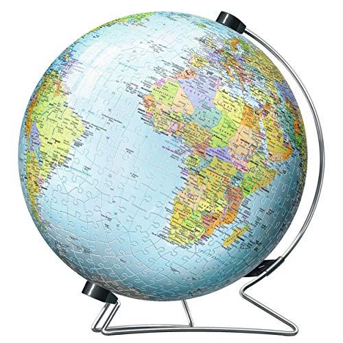Ravensburger 12435 Globus in deutscher Sprache 3D-Puzzle