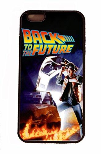 """GPO Group Schutzhülle für Apple iPhone 6 und iPhone 6 Plus, exklusives Retro-Design mit Motiv des Filmklassikers """"Back To The Future"""" (Zurück in die Zukunft) mit Marty McFly, Gummi, Hartschale, Gummi, iPhone 6"""