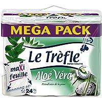 La carta igienica Clover Leaves Maxi profumata Aloe Vera 24 Rolls