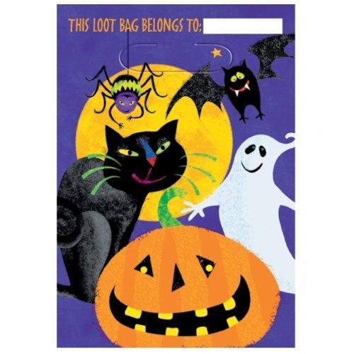 NEU Geschenktüte Grusel Gruppe, 8 Stk. 23x17 cm (Von 3 Für Gruppen Halloween-kostüme)