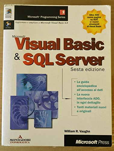 Visual Basic & SQL Server. Con CD-ROM