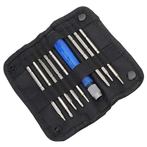 K8U148 @FATO 9 in 1 Schraubendreher Set Repairtool für Handys - 0 Phillips Insert Bit