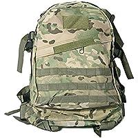 Gleader Mochila Militar Camping Supervivencia Color Camuflaje Impermeable