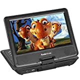 from Koolertron Koolertron LCD 9.5 Portable DVD Player Rotating Swivel Screen Handheld Portable DVD Player with Function of VCD CD SD TV MP3 MP4 USB Games Household Cinema - Great Christmas Birthday Gift for Families and Friends
