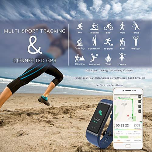 Zoom IMG-2 chereeki fitness tracker orologio bluetooth