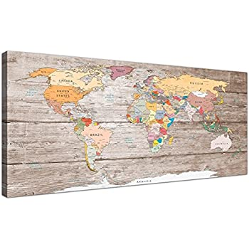 new ikea premiar world map picture with frame canvas large 55 x 78 inches kitchen. Black Bedroom Furniture Sets. Home Design Ideas