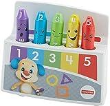 Fisher-Price FBP45 Lernspaß Malstifte interaktives Lernspielzeug mit Melodien zum Erlernen von Farben und Stimmungen, ab 18 Monaten deutschsprachig