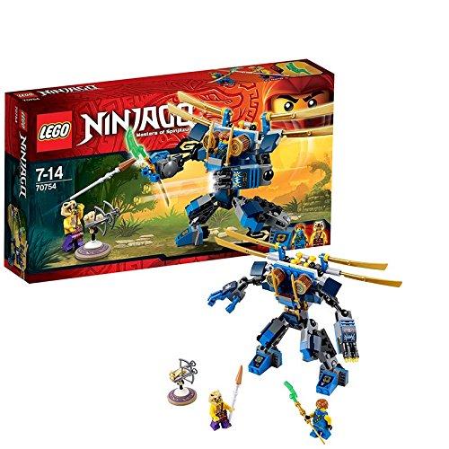 Preisvergleich Produktbild Lego Ninjago 70754 - Jay's Elektro - Mech, 2 Minifiguren mit Ausrüstung und Zubehör
