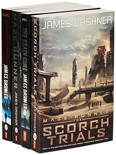The Maze Runner (Set of 4 Books)