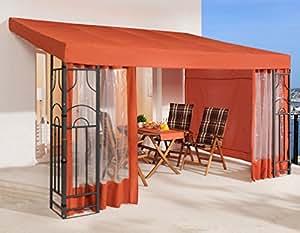 grasekamp anbaupergola romana 3x4 meter terra k che haushalt. Black Bedroom Furniture Sets. Home Design Ideas