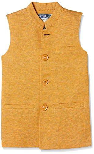 Fort Collins Boys' Regular Fit Coat (92871_Mustard_30 (10 - 11 years))