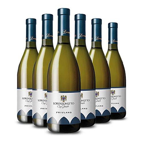Cantina lorenzonetto - 6 bt - friulano doc vino bianco