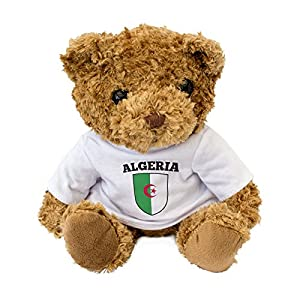 London Teddy Bears Neu - Algerien Teddybär - Geschenk Geburtstag Weihnachten Präsent - Al Jaza