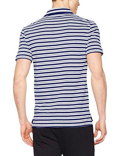 Lacoste Herren Poloshirt Mehrfarbig (Oceane/Blanc)