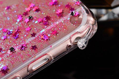 iPhone 6S Plus Hülle,iPhone 6 Plus Hülle,iPhone 6S Plus / 6 Plus Hülle,ikasus® [Mit Frei Glasfolie Hartglas Schutzfolie + Stylus Pen] iPhone 6S Plus Silikon Hülle [Kristallklar Durchsichtig],Crystal C Engel:Rosa