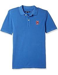 Tommy Hilfiger Boys' Plain Regular Fit Polo