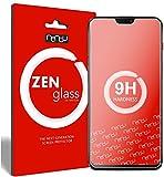 nandu I ZenGlass Flexible Glas-Folie für OnePlus 6 Panzerfolie I Display-Schutzfolie 9H I (Kleiner Als Das Gewölbte Display)