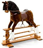 LUXURIOUS VERY LARGE Rocking Horse \