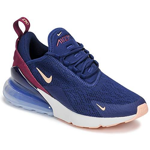 Nike Damen W Air Max 270 Leichtathletikschuhe Mehrfarbig (Blue Void/Crimson Tint/True Berry 402) 42 EU