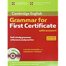 Cambridge Grammar for First Certificate with Answers and Audio CD (Cambridge Grammar for First Certificate, Ielts, Pet)