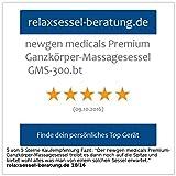 Newgen Medicals Premium-Ganzkörper-Massagesessel GMS-300.bt - 7