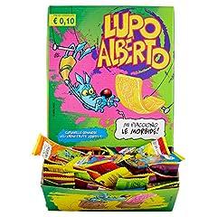 Idea Regalo - Gelco Lupo Alberto Caramelle Gommose Box da 200 Pezzi, Gusti Assortiti di Frutti, Caramella Incartata Singolarmente, Ideale per Feste per Bambini