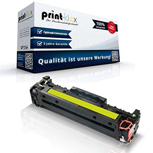 Preisvergleich Produktbild Kompatible Tonerkartusche für Canon I-Sensys MF728Cdw I-Sensys MF729Cdw I-Sensys MF729Cx EP718 CRG 718Y Yellow