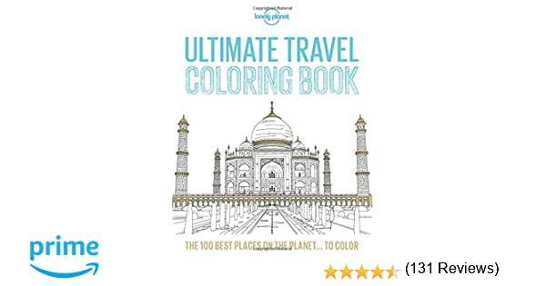 ultimate travel coloring book lonely planet amazoncouk lonely planet 9781760344214 books - Travel Coloring Book