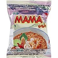 Carton 30 Soupes Nouilles Mama Crevettes Tom Yum 60g