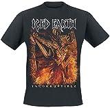Photo de Iced Earth T Shirt Incorruptible Band Logo Metal Nouveau Officiel Homme par Iced Earth