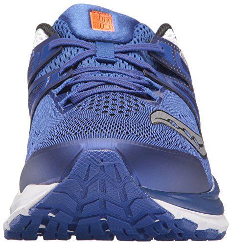 Saucony Mens Hurricane Iso 3 Mens Footwear Synthetic Bleu