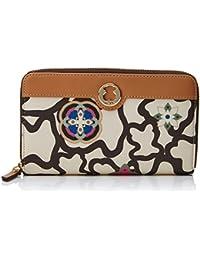 Tous Kaos Mossaic Mediana, Cartera para Mujer, Varios Colores (Arena-Camel), 3x10x18 cm (W x H x L)